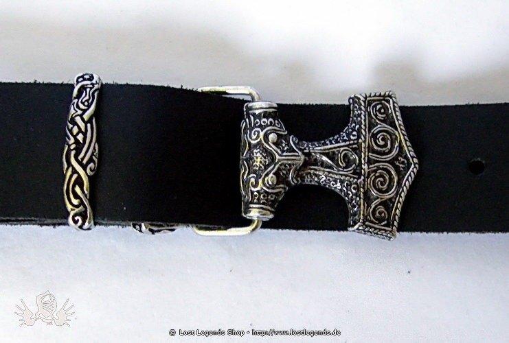 Buckle-Belt Thorshammer, Leder