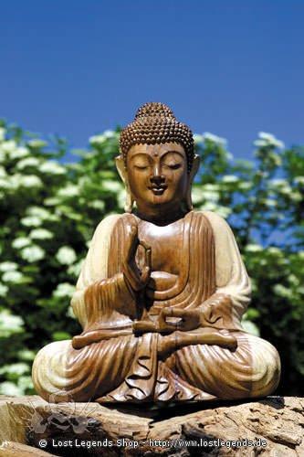 Buddha, mit erhobener Hand, 50 cm
