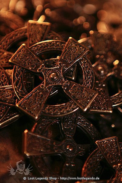 Celtic Cross Zierniete, Altmessing
