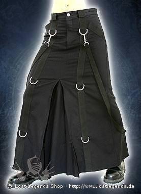 Chain Skirt Herrenrock, Denim