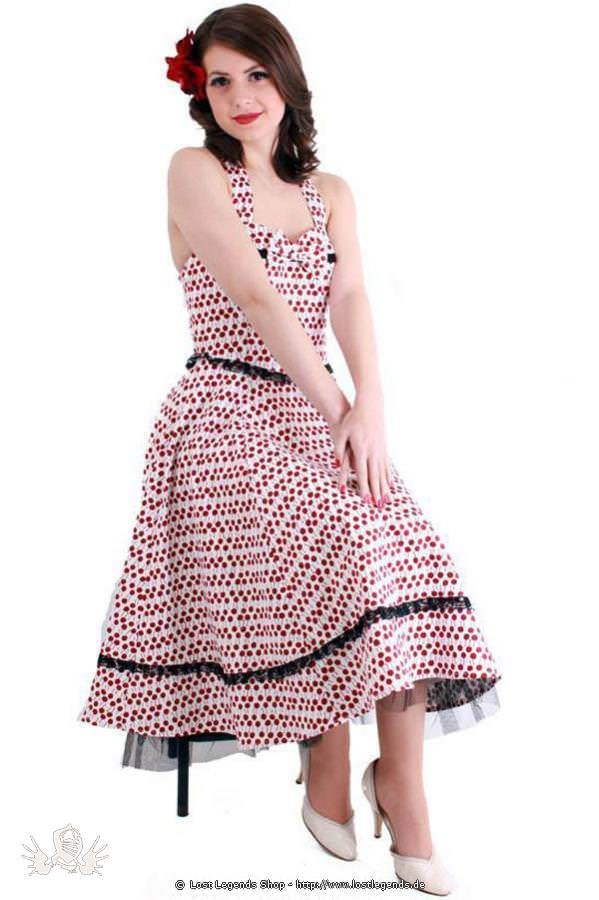 Cherry Bow Pinup Kleid