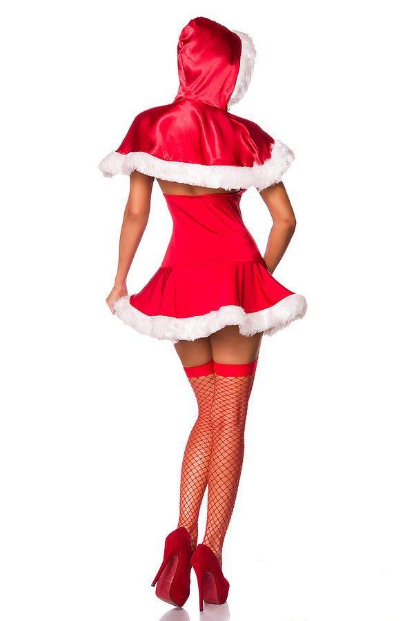 Christmas Girl Komplettset rot/weiß