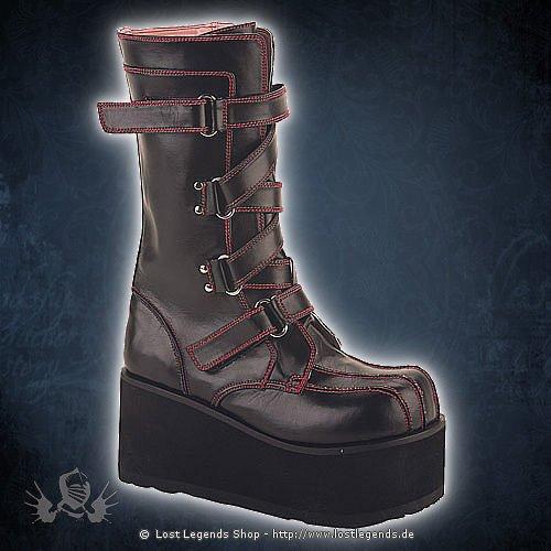 Clash-435 Demonia Gothic Stiefel