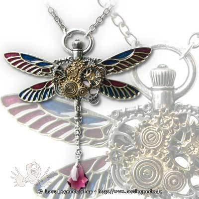 Clockwork Darter Steampunk Halskette