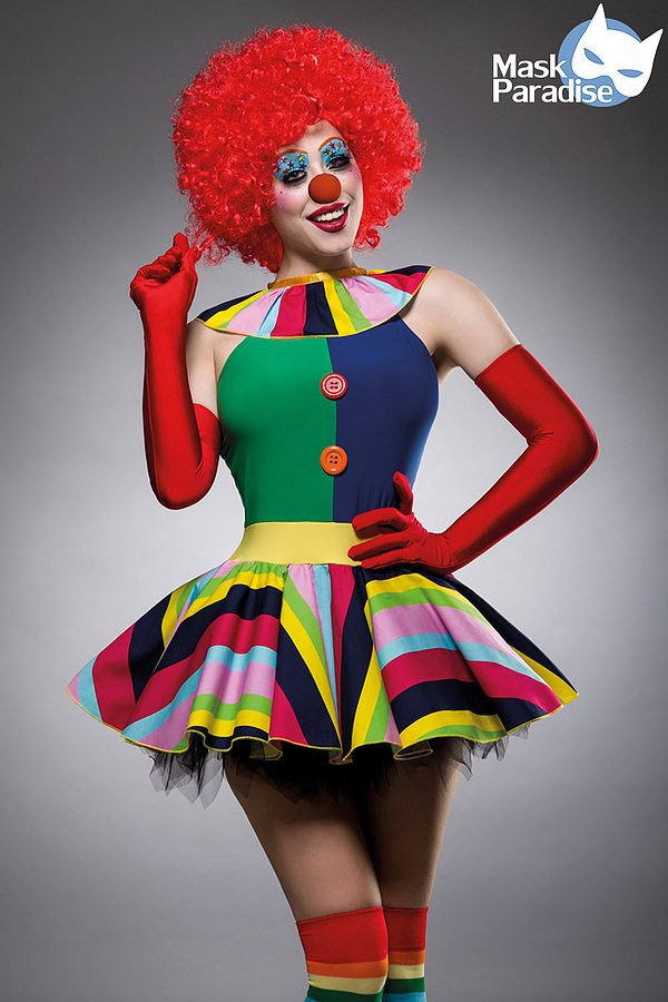 Clown Girl Kostüm