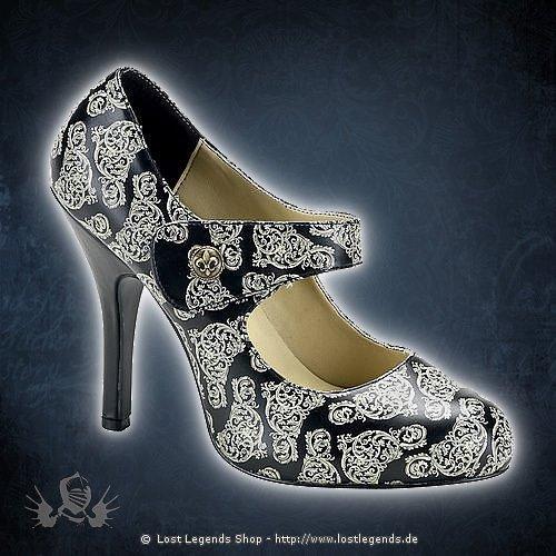 Cordelia-31 Steampunk Heel