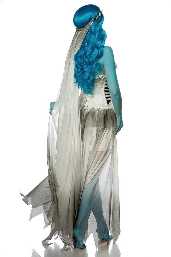 Corpse Bride Komplettset weiß/blau