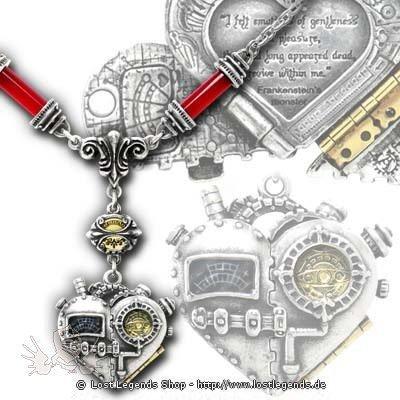 Corvus Machina Steampunk Halskette