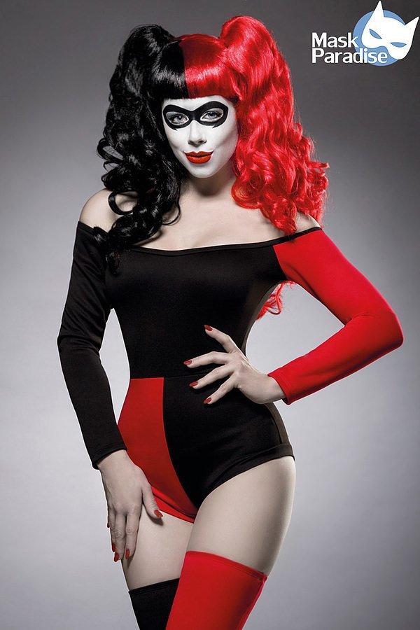 Crazy Harley Kostümset rot/schwarz