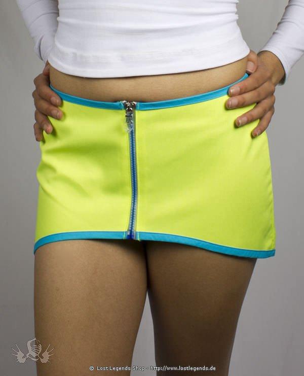 Cyberdog Mini Me Skirt Neon Yellow