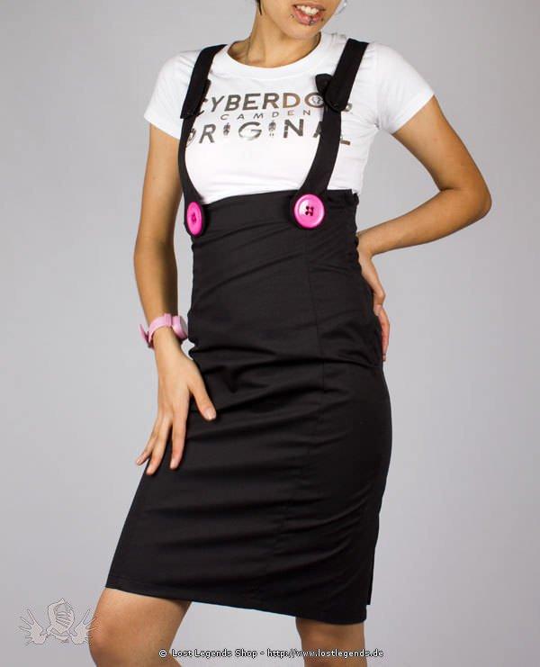 Cyberdog Pencil Skirt Black