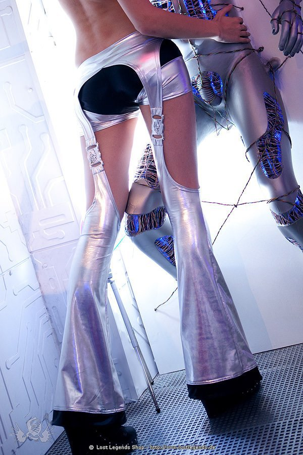 Cyberdog XXX Podium Leggings Silver