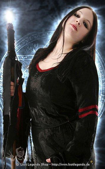 Darkblade Kleid, Samt