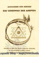 Das Geheimnis der Adepten Alexander von Bernus