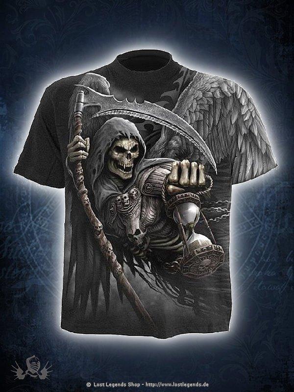 Death Angel Wrap AllOver T-Shirt schwarz SPIRAL