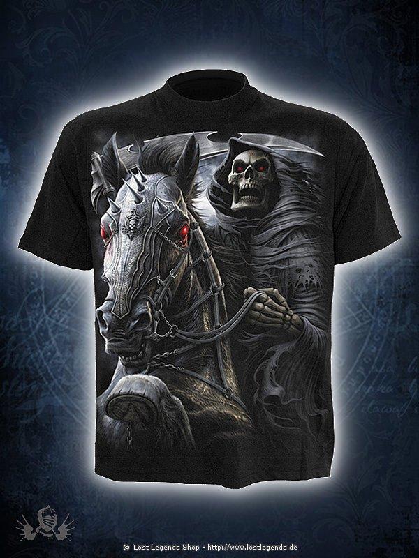 Death-Rider T-Shirt schwarz SPIRAL