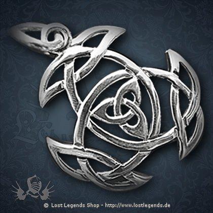 Deifaltigkeit Anhänger, Silber