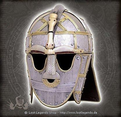 Der Sutton Hoo Helm spätes 8. Jahrhundert