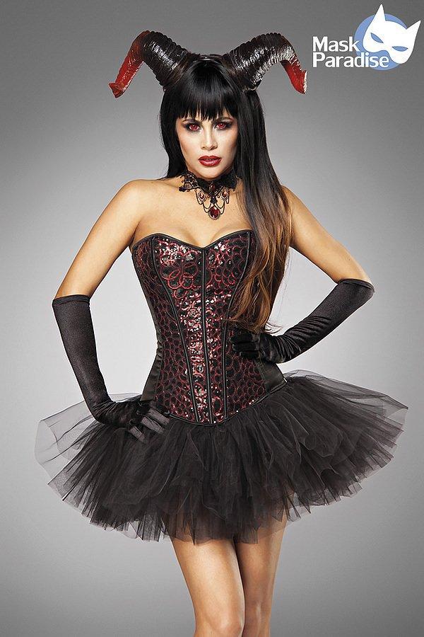 Devil Lady schwarz/rot