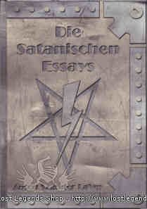 Die Satanischen Essays Anton Szandor LaVey