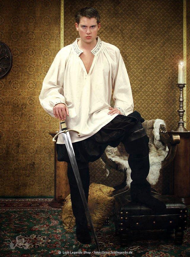 Die Tudors Höfisches Hemd König Heinrich VIII