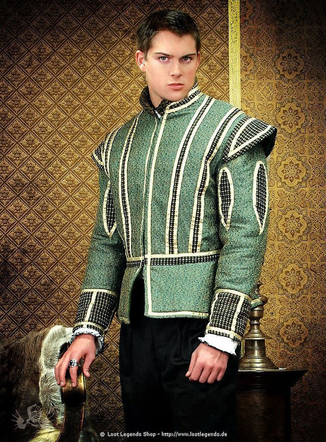 Die Tudors Jacquard Doublet König Heinrich VIII.