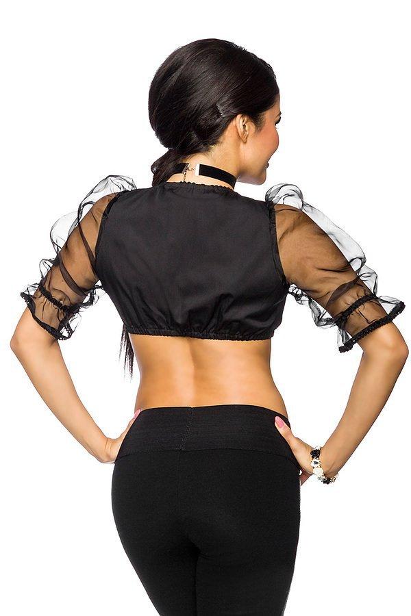 Dirndl-Bluse schwarz