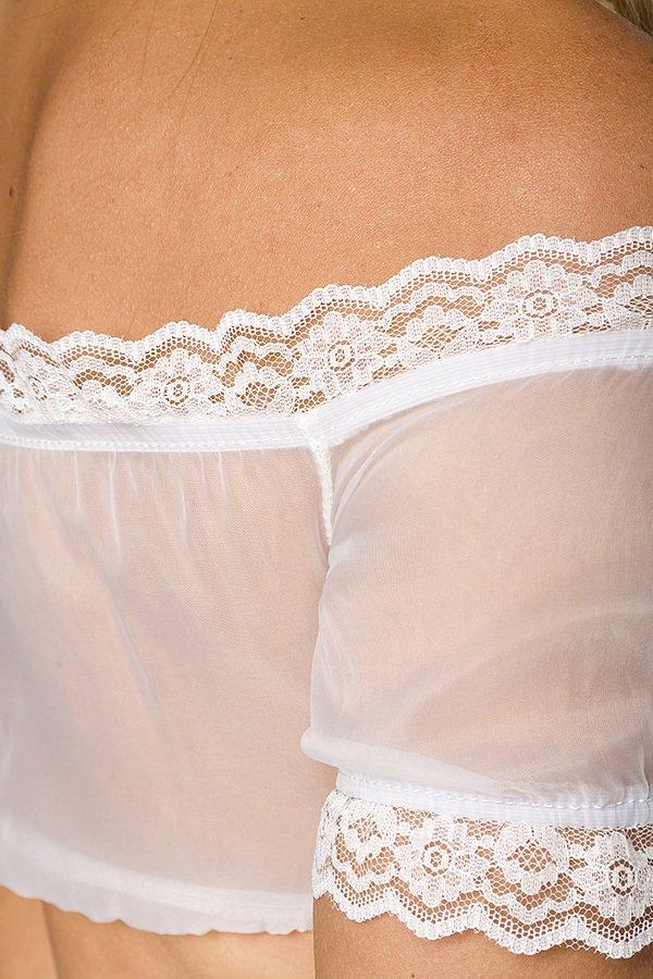Dirndl-Bluse weiß