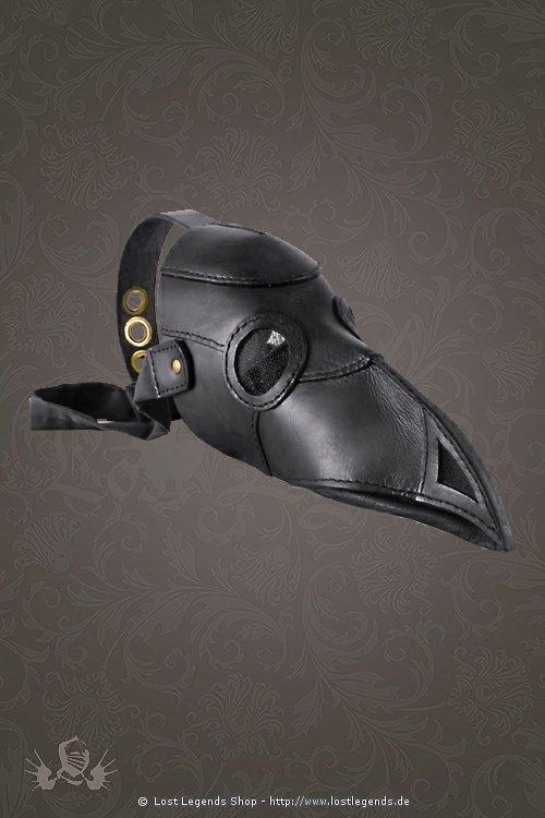 Doktor Maske schwarz