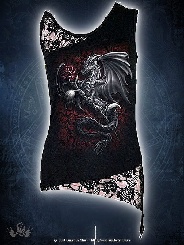 Dragon Rose Top SPIRAL