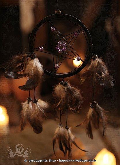 Dreamcatcher mit Pentagramm