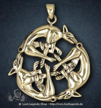 Dreifaltigkeit Anhänger, Bronze