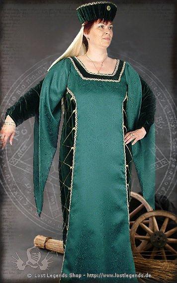 Edeldame Mittelalterkleid