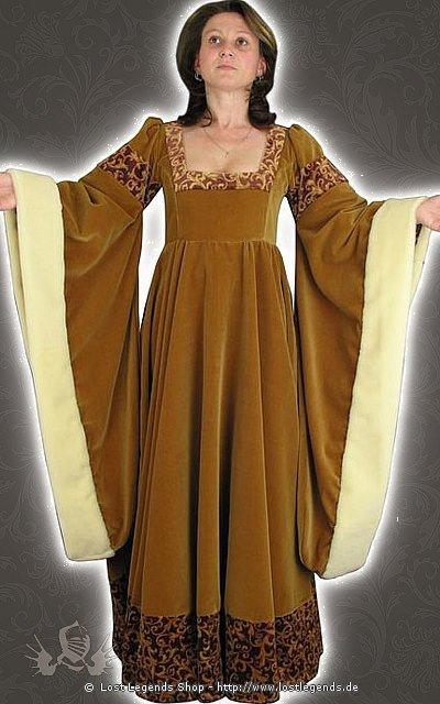 Edeldamenkleid Mittelalter Kostüm