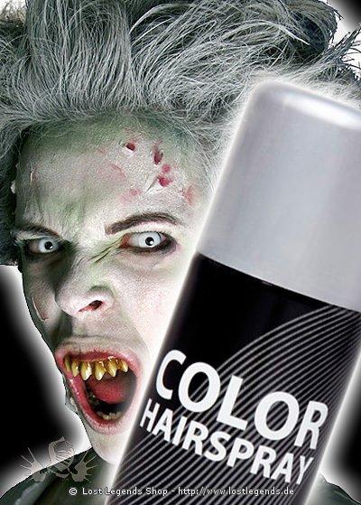 Effekt Haarspray Silber