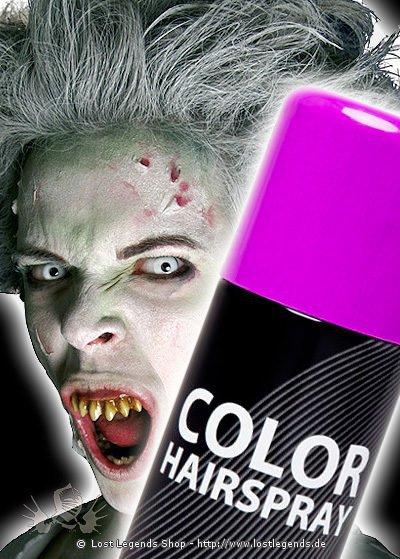 Effekt Haarspray Violett