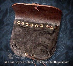 Einfache Gürteltasche aus Leder