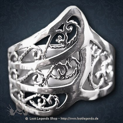 Elben Ring Silber