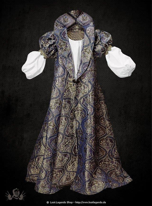 Mittelalter-Kleidung Elisabethanisches Gewand