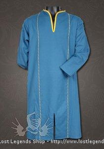 Elven Tunika Baumwolle, blau