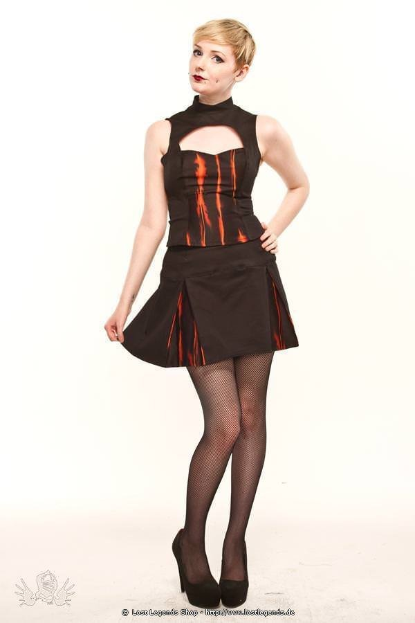 Ember Cut Out Gothic Top