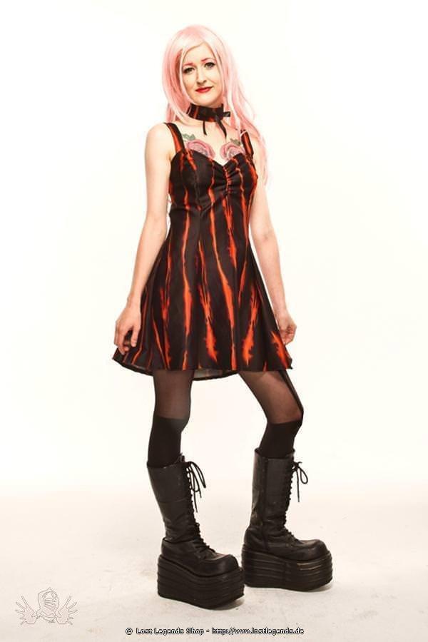 Ember Sweetheart Gothic Kleid