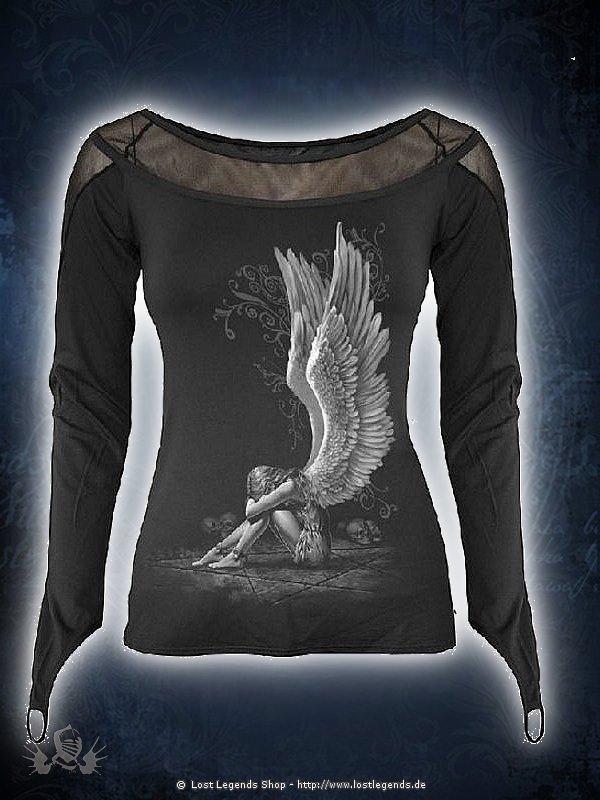 Enslaved Angel Longsleeve SPIRAL