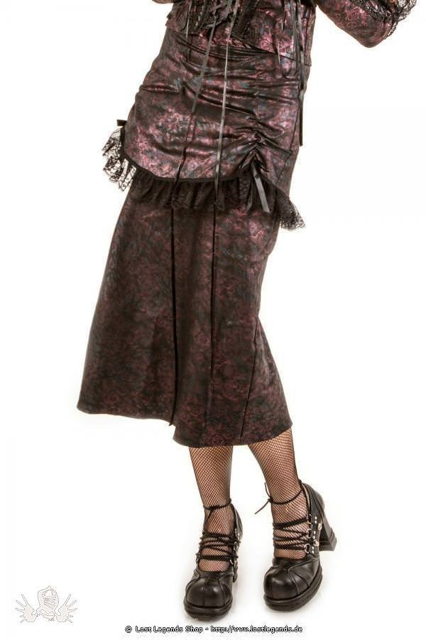 Esme Hobble Skirt Steampunk Rock