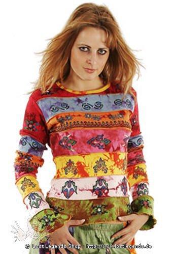 Buntes Ethnic Shirt Baumwolle
