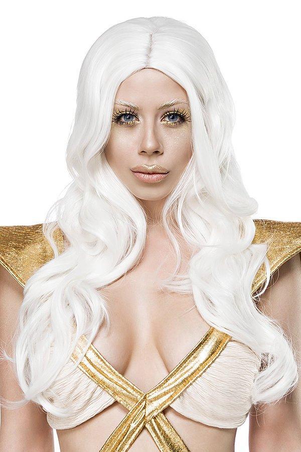 Fairy Perücke weiß