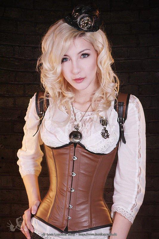Fantasy Steampunk Unterbrust Korsett