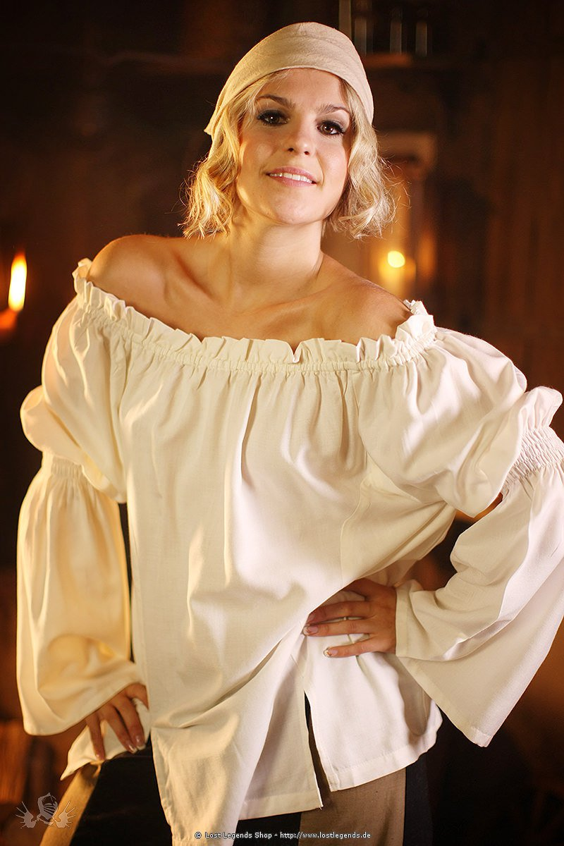 Medieval Blouse Feather