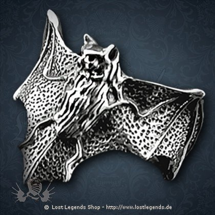 Fledermaus-Ring Dark Bat