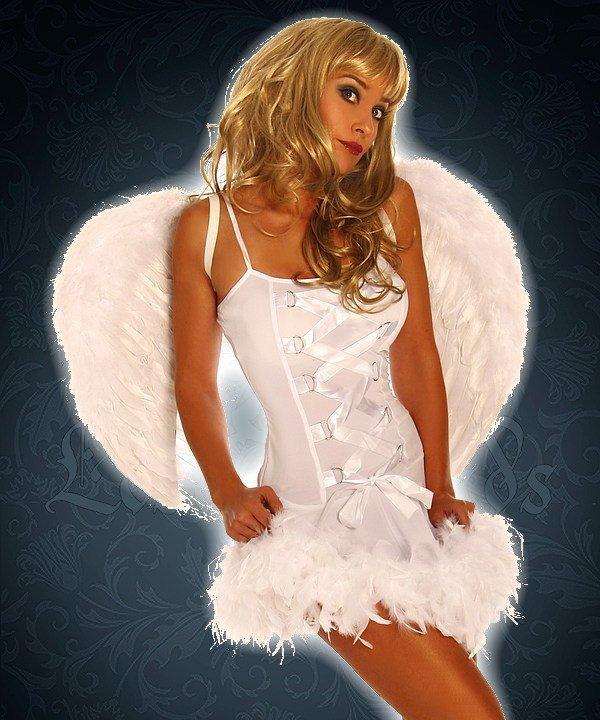 Flügel weiß